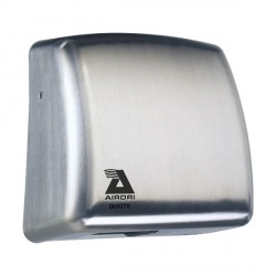 Airdri Quote Hand Dryer brushed