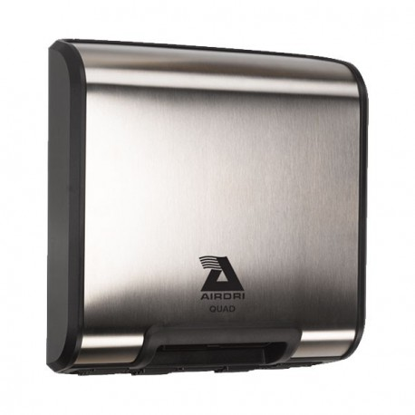 Airdri Quad sèche-mains acier brossé