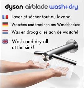 Sèche-mains Dyson Airblade Tap