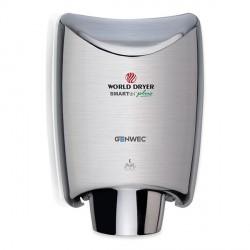 Sèche-mains SMARTdri plus aluminium brossé