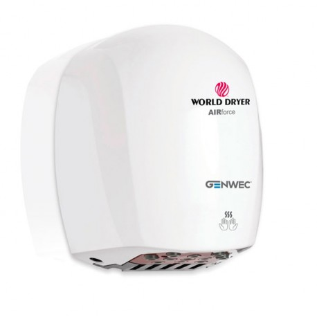 World Dryer Airforce Hand Dryer white