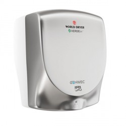 World Dryer VERDEdri Hand Dryer brushed stainless