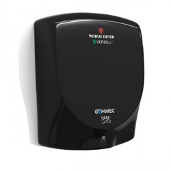 World Dryer VERDEdri Hand Dryer black