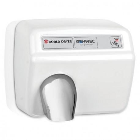 Modèle A Sèche-mains blanc